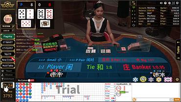 Baccarat dg casino